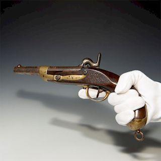 FRENCH MILITARY 70 CALIBER FLINTLOCK CONVERSION GUN