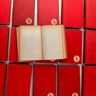 17 VOLUMES FROM HUGO, DUMAS, AND POE COLLECTIONS