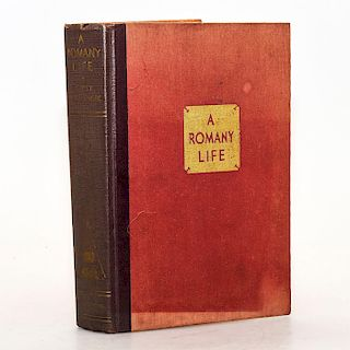 FIRST EDITION BOOK, ROMANY LIFE BY GIPSY PETULENGRC