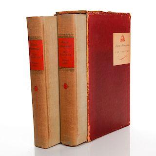 2 ANNA KARENINA BOOKS BY LEO TOLSTOY, 1939