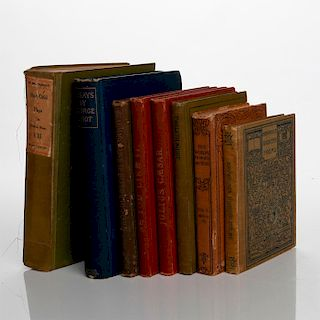 8 VINTAGE BOOKS OF FAMOUS POEMS AND PLAYS