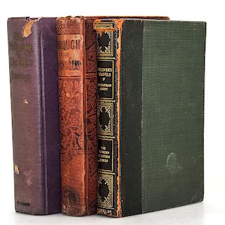 THREE FANTASTICAL CLASSIC BOOKS, HARDCOVER