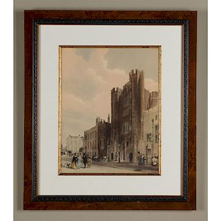 VICTORIAN ENGRAVED PRINT ST. JAMES'S PALACE T.S. BOYS