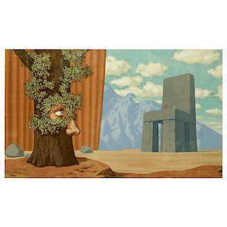 After: Rene Magritte, Belgian (1898 - 1967)