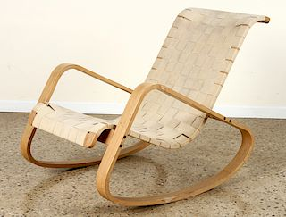 VERY RARE ROCKING CHAIR BY LUIGI CRASSEVIG