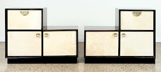 PAIR ASYMMETRIC CABINET MANNER JAMES MONT C.1950
