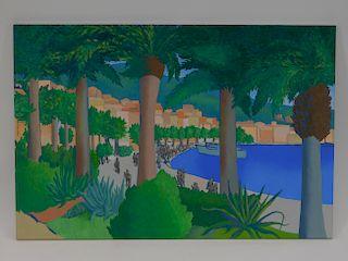 Francesco Carbone Modern Rapallo Italy Painting