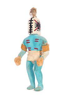 Antique Aya Rattle Runner Kachina