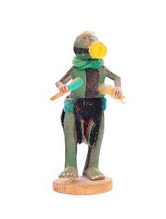 Squash Miniature Patung Kachina Artist KN