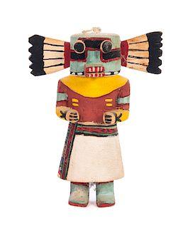 Hopi Warrior Kachina Artist Jimmy Keywanetewa