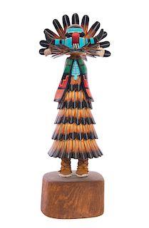 Laurence Dallas feathered Kachina