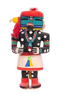Antique Hopi Mosa Cat Belly Hugger Kachina