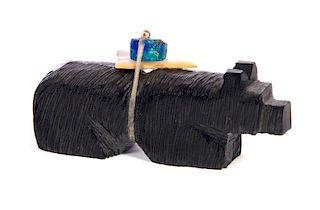 Zuni Shieyo Mahoyty Native American Stone Bear Effigy