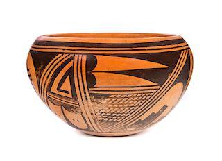 Early Hopi Pot by Frieda Poleahla