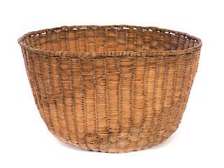 Early Large Hopi Native American Basket