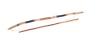 Early Nartive Americans Childs Bow and Arrow