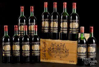 Chateau Palmer Margaux 1979, 12 bottles