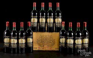Chateau Palmer Margaux 1982, 12 bottles