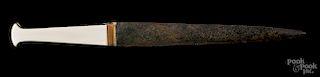 Luristan bronze dagger