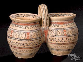 Messapian double vessel