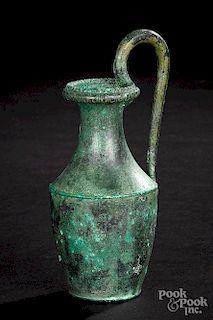 Roman bronze oinochoe