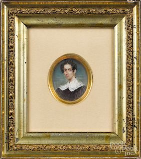 Three Maryland miniature portraits