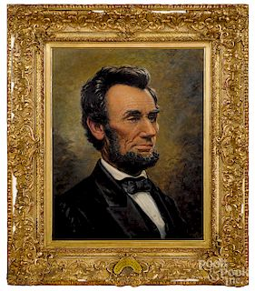 Franklin Courter, portrait of Abraham Lincoln