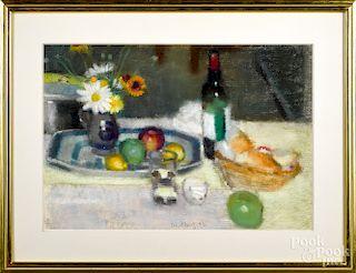 David Fertig, pastel still life
