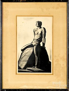 Rockwell Kent, two signed lithographs