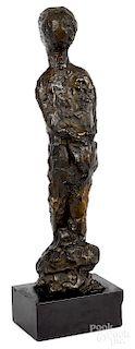 Reg Butler, bronze sculpture of a woman