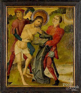 Old Master oil on panel religious scene