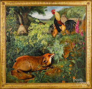 William J. Webbe, Chanticleer and the Fox