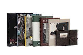 Fotoslibros de Artistas. Physiognomy. The Mark Seliger Photographs / Gerhard Richter's Atlas / Arnold Newman... Piezas: 7.