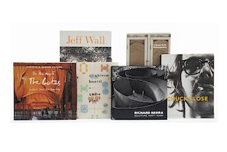 Libros sobre Artistas Conceptuales., Alighiero Boetti / Richard Serra. Sculpture / Roth Time: A Dieter Roth Retrospective... Piezas: 6.