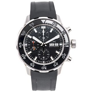 IWC SCHAFFHAUSEN AQUATIMER REF. 3767 wristwatch.
