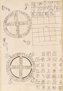 Alvarado Tezozómoc, Hernando. Crónica Mexicana. Escrita por… hacia el Año de MDXCVIII. México, 1878. 16 láminas.