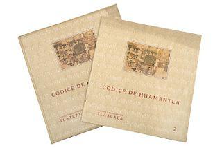 Meade de Angulo, Mercedes. Códice Huamantla - Códices y Manuscritos Tlaxcala 2. México, 1984. Piezas: 2.