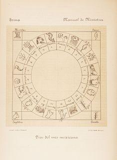 Anales del Museo Nacional de México. Idolatrías y Supersticiones de Los Indios. México: Museo Nacional, 1900. Ilustrado.