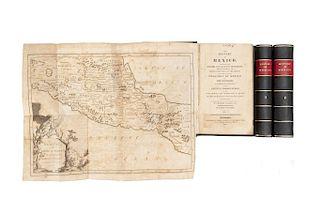Clavigero, Francesco Saverio. The History of Mexico. Philadelphia, 1817. Tomos I - III. Piezas: 3.