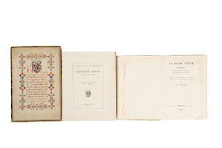 Conway, G.R.G. / Cuevas, Mariano. Obras sobre Hernán Cortés... Pzs: 3.