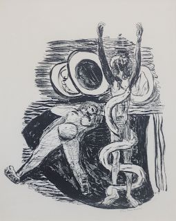 Max Beckmann (German, 1884-1950) The Fall of Man (Sundenfall),1946