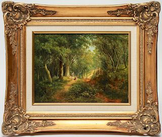 Frederick John Railton Landscape Oil on Board