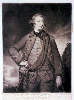 THOMAS DIXON after SIR JOSHUA REYNOLDS  Henry, Earl of Pembroke & Montgomery  Mezzotint by Thomas Dixon, pub. 5 Feb. 1771 by William...
