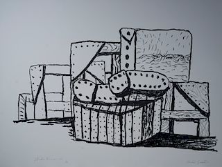 Philip Guston - Studio Forms