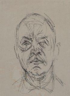 Alberto Giacometti - Head of a Man