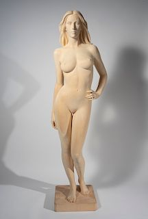 Richard Senoner - Untitled (Large Standing Nude)