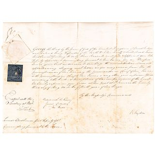 KING GEORGE III Vellum Manuscript Document Appointment Signed