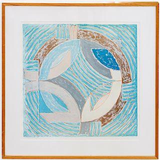 Frank Stella Framed Poster