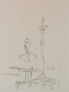Alberto Giacometti etching