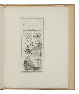 GLEIZES, Albert (1881-1953). -- METZINGER, Jean (1883-1956). Du Cubisme. Paris, 1947. 4to. Loose as issued in original wrappers. LIMITED EDITION WITH
